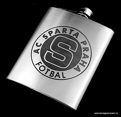 Nerezové placatky | Nerezová placatka Sparta fotbal | FOTO - DAREK